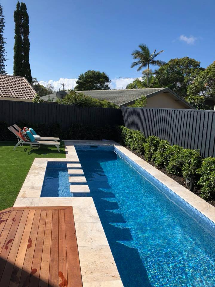 Full tiled swimming pool