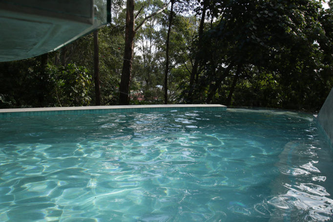 Our gallery cozy pools spas for Concrete pool builders