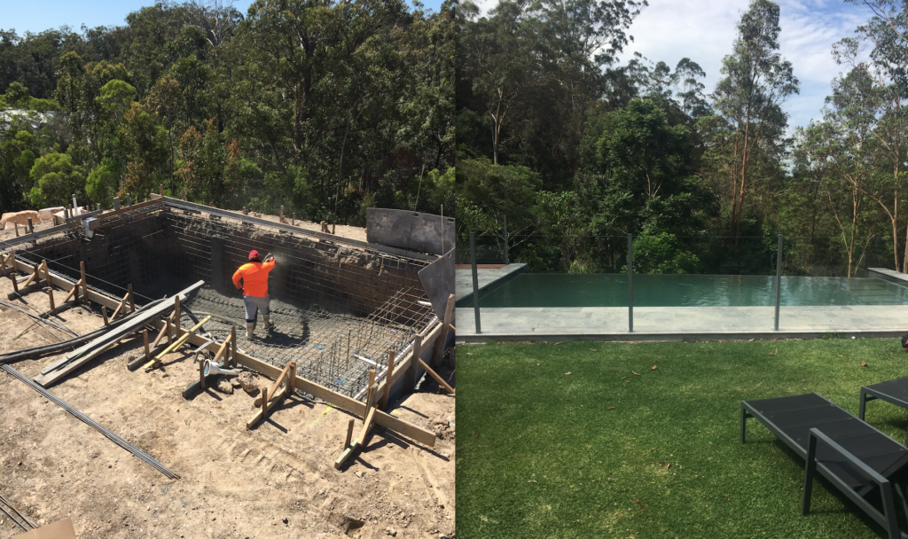 Tallebudgera concrete pool builder