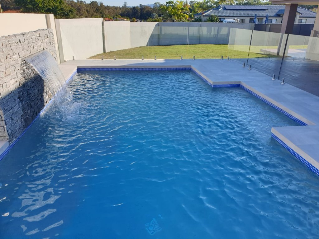 Concrete swimming pool design Arundel